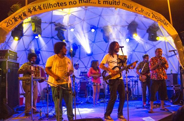 Sergipanos comemoraram a marca de 20 milhões de filhotes ao mar