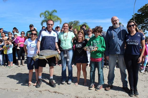 A III Semana do Mar em Ubatuba reuniu mais de 3 mil amigos dos oceanos