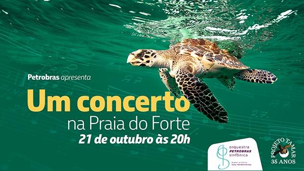 Concerto comemorativo celebra mais de três décadas de patrocínio à conservação marinha e à arte no Brasil