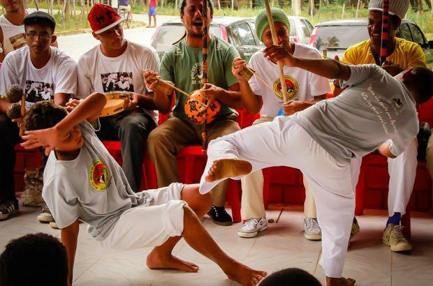 Ritmo do berimbau marcou Culturarte de Ponta dos Mangues