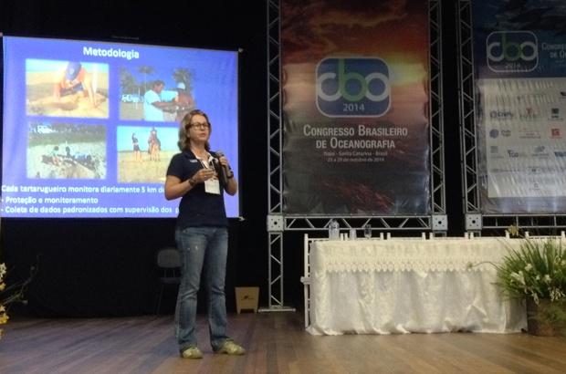 Tamar participou do VI Congresso Brasileiro de Oceanografia