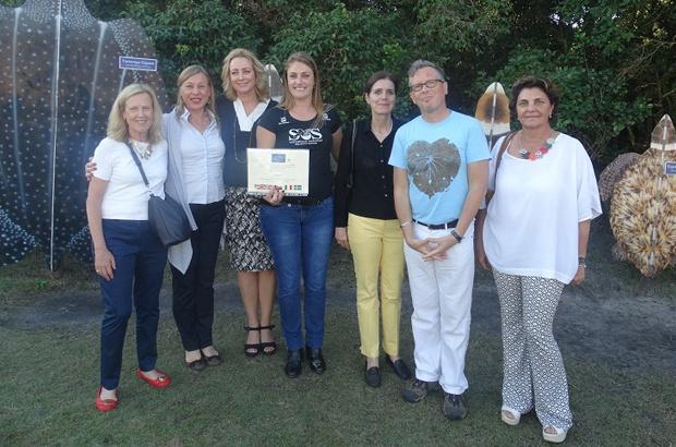 Tamar Florianópolis recebeu a visita das embaixatrizes da União Europeia