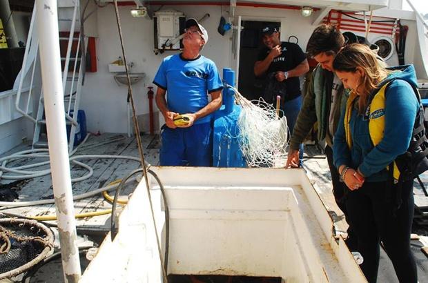 Visita a Itajaí para acompanhar trabalho de pescadores da frota industrial