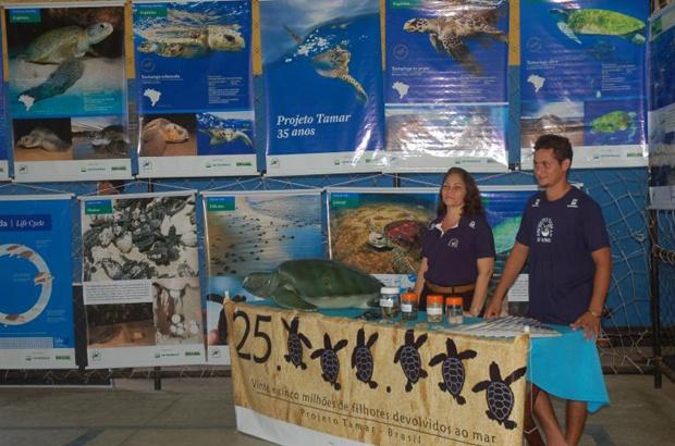 Tamar participou do II Encontro Diálogos da Pesca