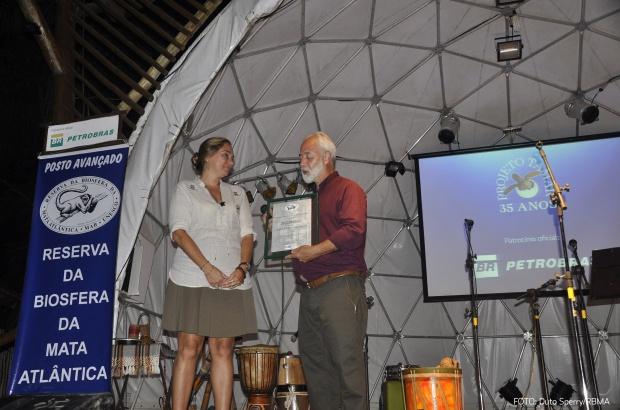 TAMAR Ubatuba recebeu título de Posto Avançado da Reserva da Biosfera da Mata Atlântica