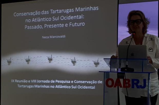 Tamar participou da Reunião Científica da Rede ASO