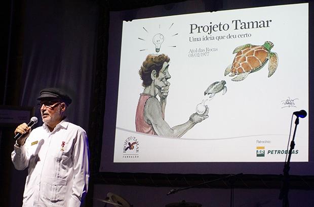 Pré-Tamar, uma homenagem aos criadores da conservação marinha no Brasil.