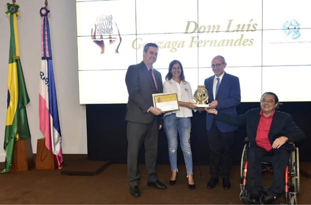 TAMAR recebe Prêmio Dom Luís, em Vitoria-ES