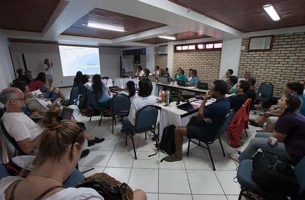 Reunião anual em Florianópolis avalia prioridades para as tartarugas marinhas nas áreas de atuação do Tamar