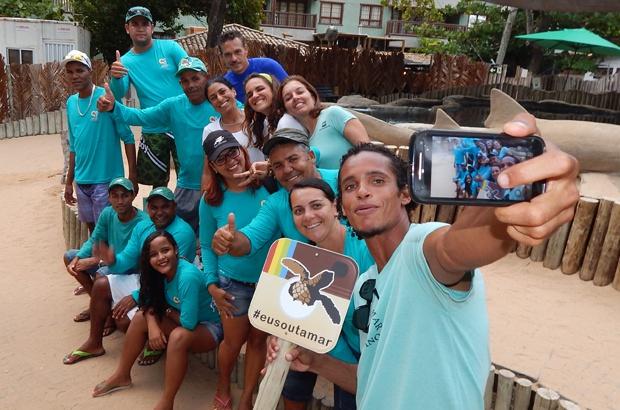 Visita de pescadores da Associação Peixe-boi rendeu boas histórias para contar