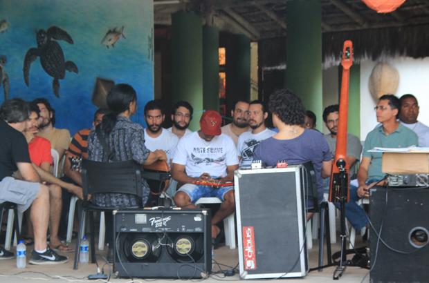 Workshop com Stanley Jordan e Dudu Lima no Oceanário de Aracaju
