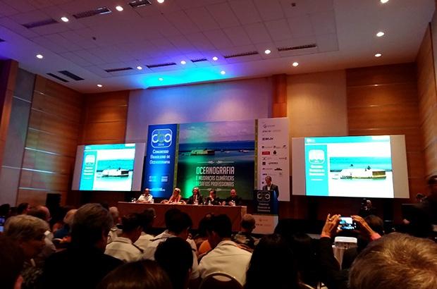 TAMAR participou do Congresso Brasileiro de Oceanografia – CBO